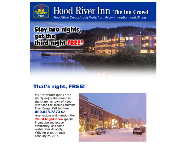 Hood River Inn E News